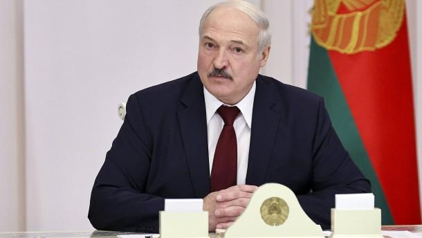 IOC suspendiert belarussischen Machthaber Lukaschenka