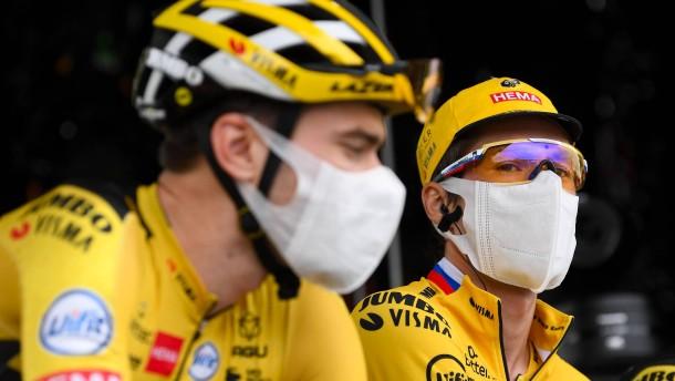 Kopfschmerzen bei der Tour de France
