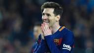"""""""Ich habe mir nie die Verträge durchgelesen, ich weiß nicht was drin steht"""": Lionel Messi."""