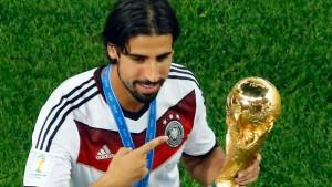Real und Arsenal über Khedira-Wechsel einig
