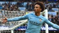 Leroy Sané kommt bei Manchester City immer besser in Schwung.