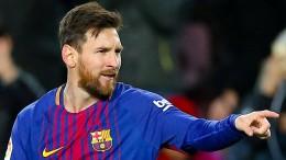 Messi-Gala bei Barcelonas Kantersieg