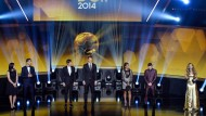 Die Nominierten im Überblick: Sechs Fußballer in gespannter Erwartung