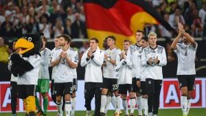 DFB-Präsident Grindel ist erleichtert über Reaktion der Fans