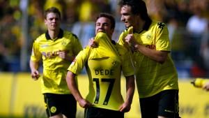 Dortmund, Leverkusen und die Bayern gewinnen