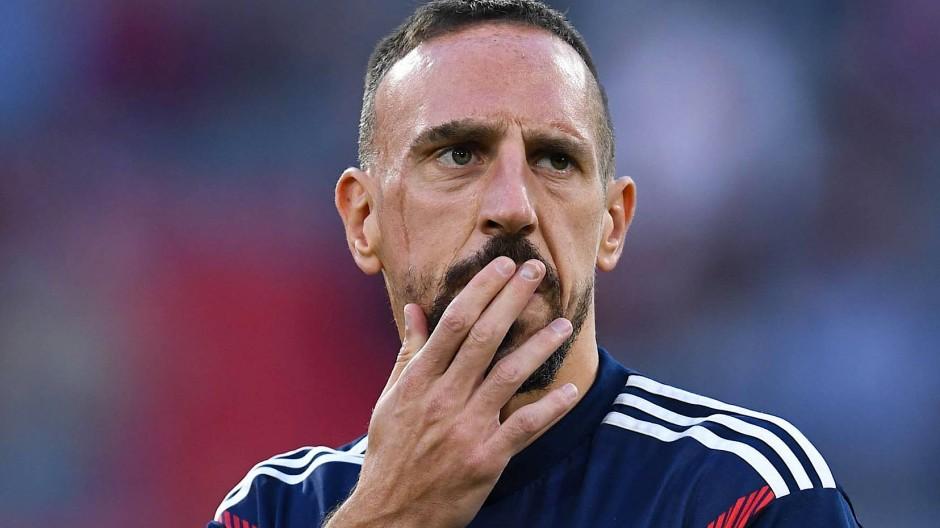 Franck Ribéry war viele Jahre beim FC Bayern ein Star der Bundesliga.