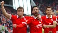 Wieder da: Mainz 05 zeigt alte Tugenden