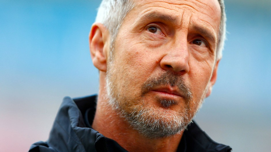 Noch drei Spiele mit Eintracht Frankfurt: Trainer Adi Hütter