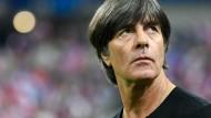 """""""Wir haben etwas gutzumachen"""": Bundestrainer Joachim Löw."""