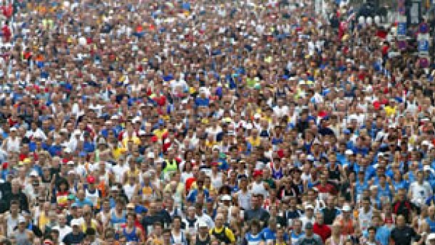 Mehrzahl Marathon