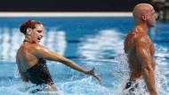 Synchronschwimmen wird männlich
