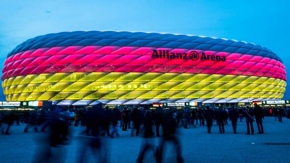 Ursprünglich als EM-Spielort geplant: die Münchner Fußballarena