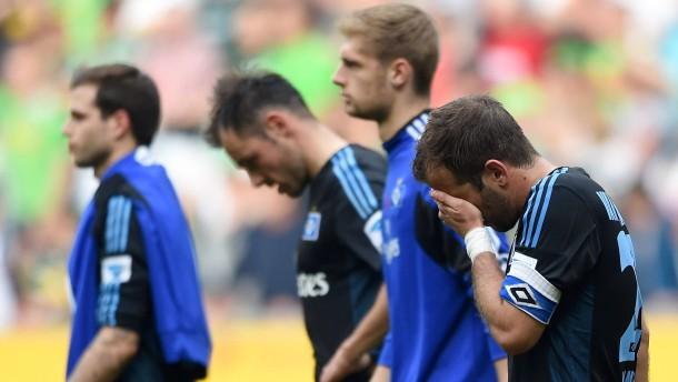 HSV taumelt Richtung zweite Bundesliga