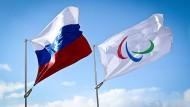Die russische Fahne wird bei den Paralympics 2016 in Rio de Janeiro nicht wehen.