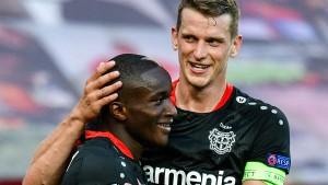 Diaby schießt Leverkusen ins Viertelfinale