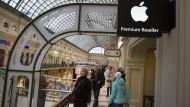 Apple schließt russischen Online-Store