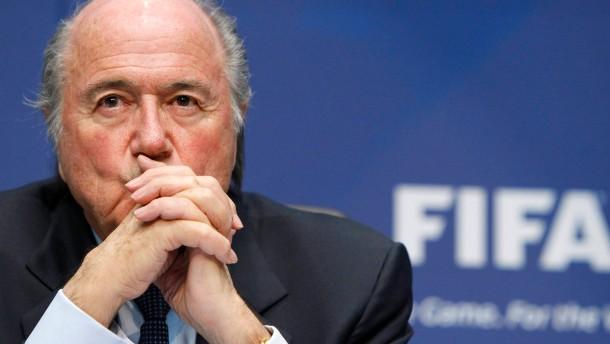 Eine Million Fußballspiele, rund 700 manipulierte Spiele: Macht 0,04 Prozent - sagt Joseph Blatter