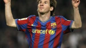 Goldener Ball für Messi