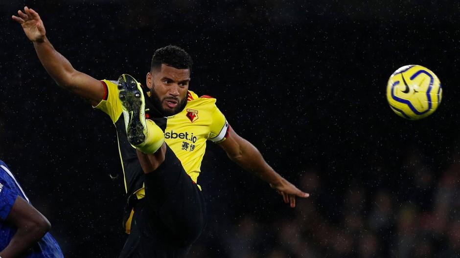 Watfords Adrian Mariappa ist einer der an Corona erkrankten Profis in Englands Premier League.