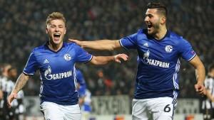 Schalke ist auch in Europa auf Kurs