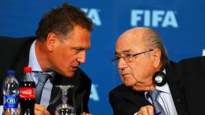 Mehr als 79 Millionen für Blatter und Co.