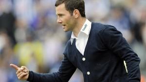 Trainer in Not - Hertha im Lot