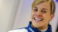 """Susie Wolff twittert über das gemeinsame Ziel: """"eine Frau als Fahrerin in die Formel 1 zu bringen"""""""