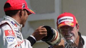Barrichellos erster Sieg im Brawn