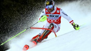 Ein Ski-Star zwischen lässig und lästig