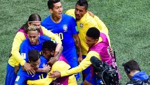 Späte Erlösung für Brasilien