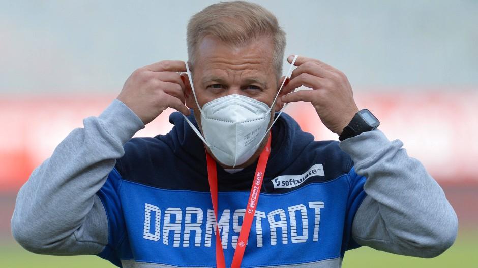 Noch drei Spiele in dieser Saison: Darmstadt-Trainer Markus Anfang