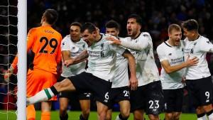 Dramatischer Sieg für Liverpool und Klopp