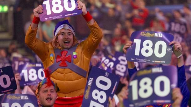 Das müssen Sie über die Darts-WM wissen
