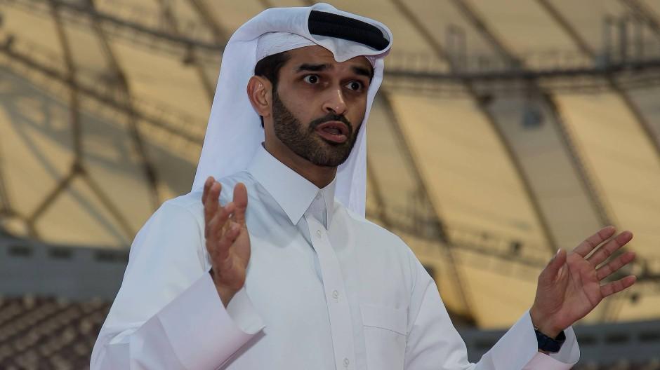 Hassan Al-Thawadi kämpft als Organisations-Komitee-Chef gegen Vorurteile: Fußball schlägt in unseren Herzen. Das wissen nur die wenigsten.