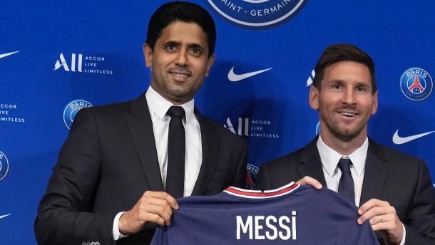Die Macht im Fußball liegt in Qatar