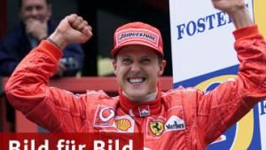 Zum Jubiläum feiert Schumacher Rekordsieg
