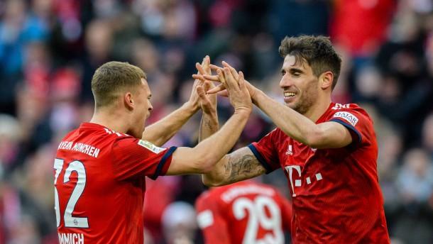 1:0 gegen Hertha: Bayern schließt zum BVB auf