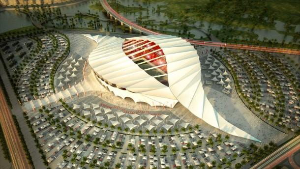Qatarer besuchen DFB und Transparency
