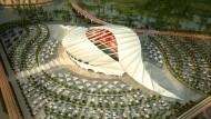 Die umstrittene WM 2022 soll in Qatar stattfinden