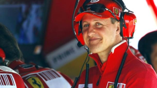 Michael Schumacher gibt wieder Gas