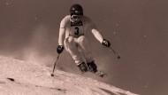 """Sepp Ferstl 1979 in Aktion: """"Wenn du gestürzt bist, hast du es wirklich auf die Knochen bekommen"""""""