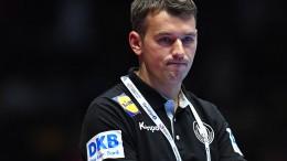 Rückschlag für Deutschland bei Handball-EM
