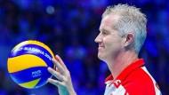 Verrückt nach Volleyball: Vital Heynen.