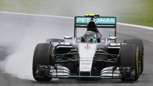 Rosberg mit Bestzeit vor Hamilton
