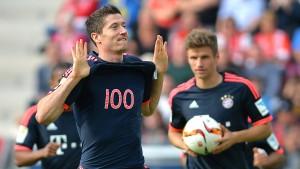 Lewandowski bleibt in Rekordlaune