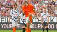 Fußball zu Ehren Schumachers