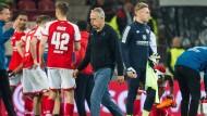 Ähnlichkeiten zwischen Mainzer und Freiburg sind unverkennbar: SC-Trainer Christian Streich geht derzeit einen Weg, den 05 früher gehen musste.