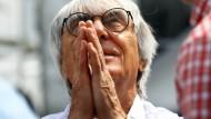 """""""Die spannendsten Rennen gibt es immer dann, wenn es nass wird"""": """"Wettergott"""" Bernie Ecclestone"""