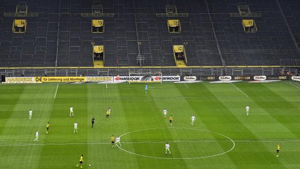 Gewagtes Spiel mit der Bundesliga