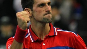Serbien gleicht aus gegen Frankreich